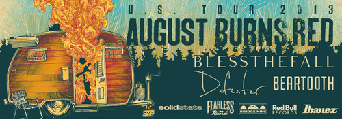 August Burns Red + Blessthefall Announce Fall Tour