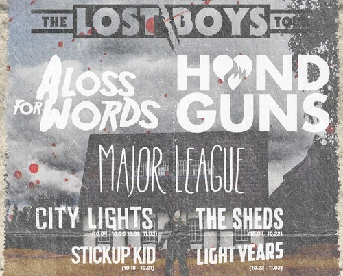 The Lost Boys Tour: A Loss For Words And More