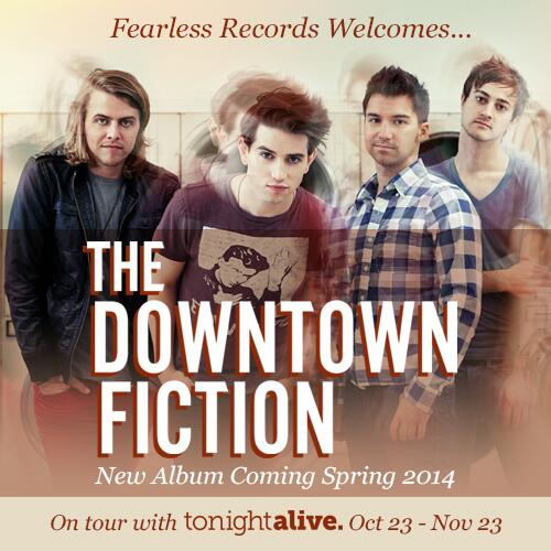 Fearless Records Sign The Downtown Fiction