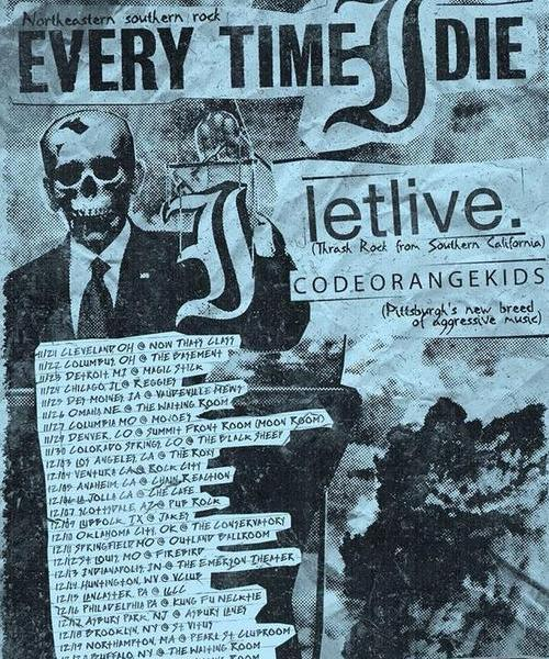 Every Time I Die + Letlive. Announce Fall Tour