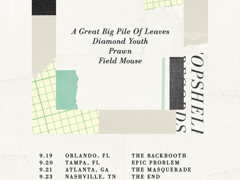 Topshelf Records announce their first-ever tour
