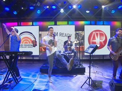 "AJR perform ""I'm Ready"" on The Today Show"