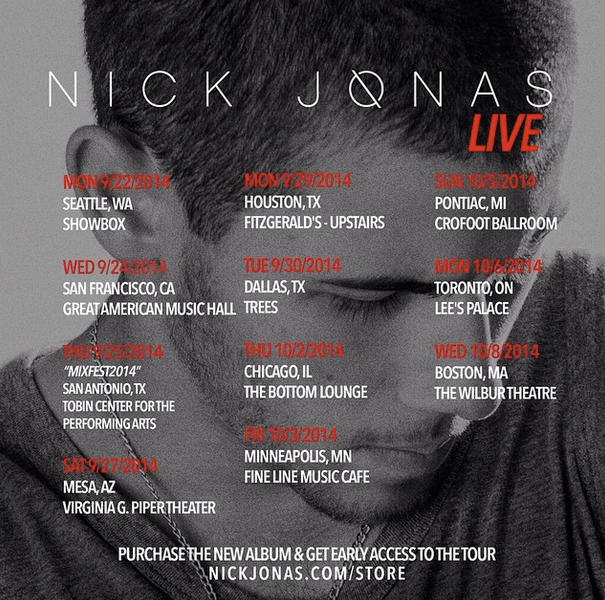 Live Review: Nick Jonas @ The Showbox l (9/22/14)