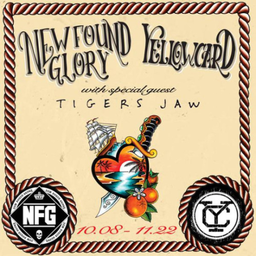 Yellowcard + New Found Glory + Tigers Jaw Announce Fall Tour