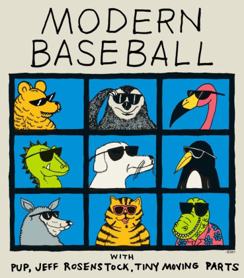 Modern Baseball Announce Fall Tour
