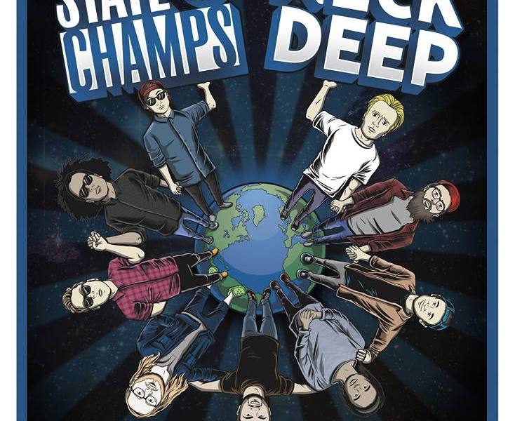 Neck Deep and State Champs Announce World Tour