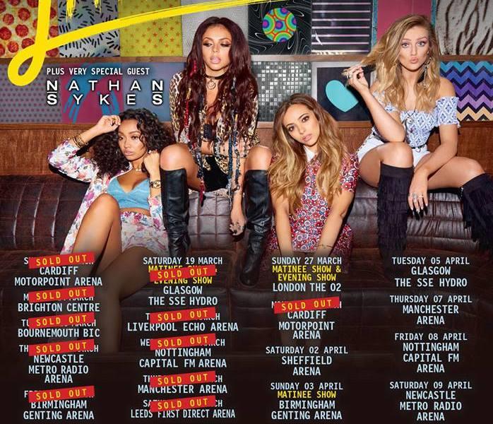 Little Mix Add More UK 'Get Weird' Tour Dates