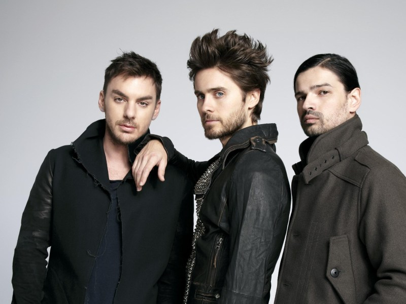 30 Seconds To Mars Back in Studio