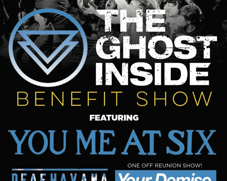 You Me At Six Announce The Ghost Inside Benefit Show