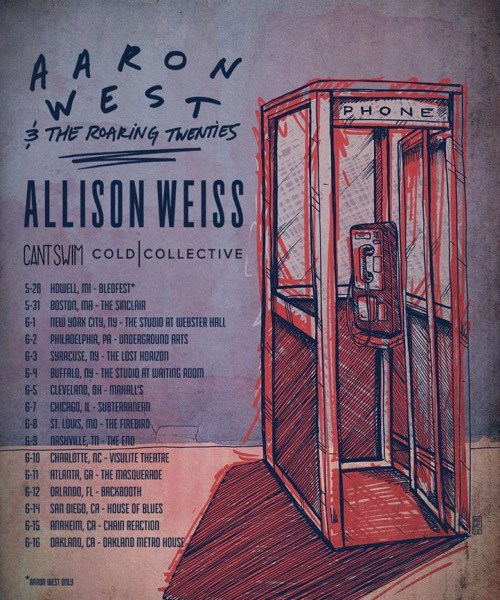 Aaron West And The Roaring Twenties announce tour
