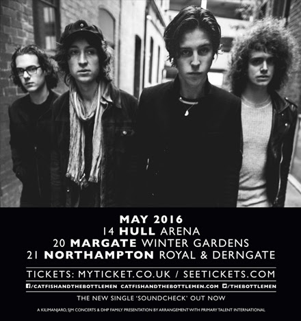 Catfish and the Bottlemen announce three new UK shows