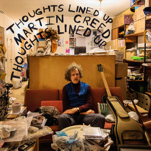 Martin Creed announces new album, 'Thoughts Lined Up'
