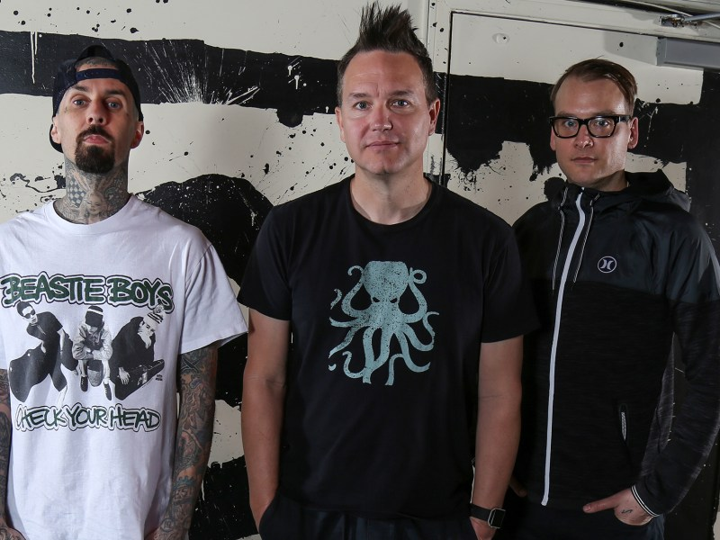 Blink-182 announce tour with WAVVES, The Naked and Famous