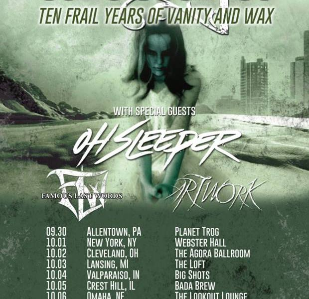 Alesana announce 'On Frail Wings Of Vanity And Wax' 10-year tour