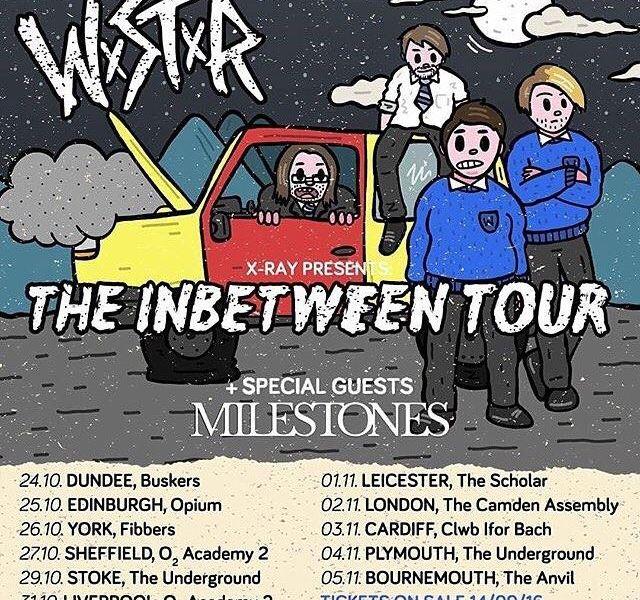 WSTR, Milestones announce fall UK tour