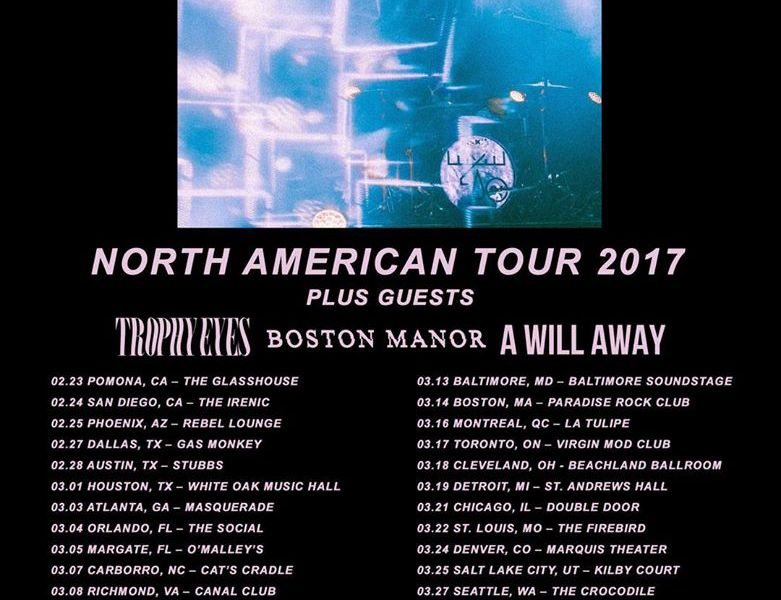 Moose Blood announce North American spring tour
