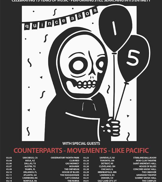 Senses Fail announce spring 15th anniversary tour