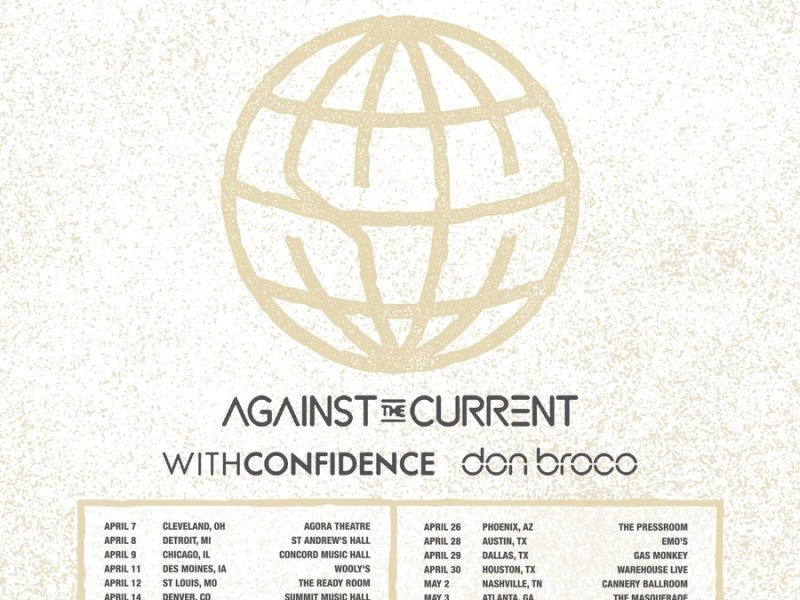 State Champs, Against The Current announce US tour