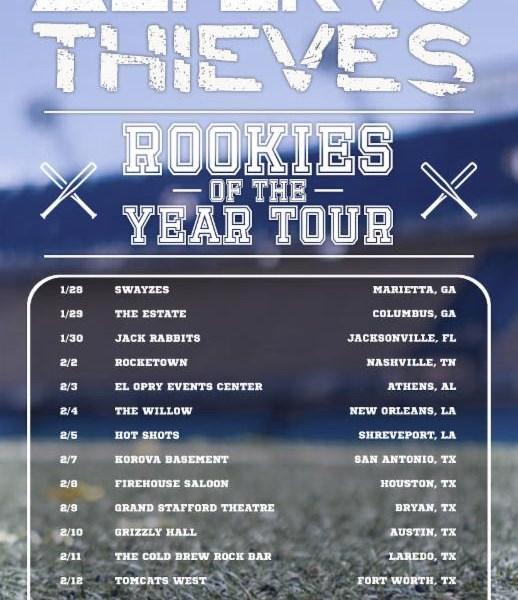 Thieves, Alteras announce co-headlining tour