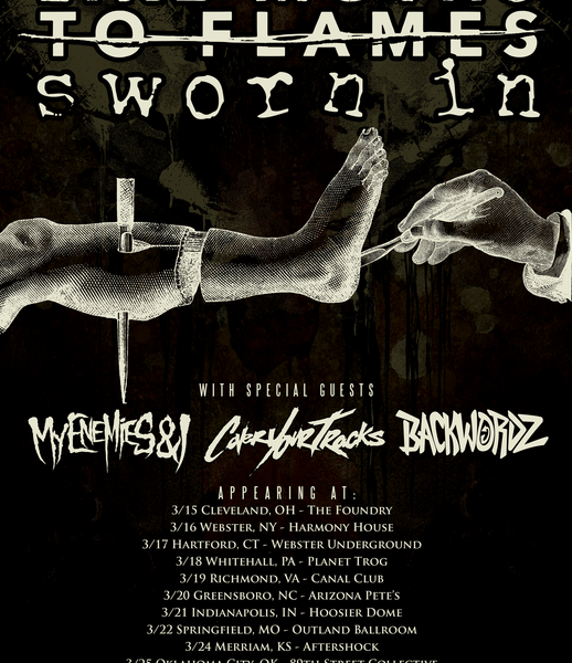 Like Moths To Flames announce March tour