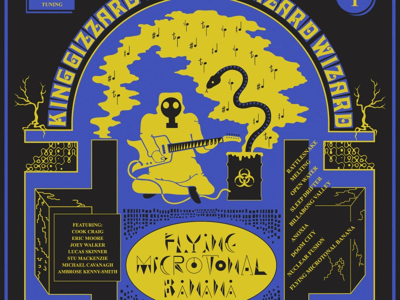 Album Review: King Gizzard and the Lizard Wizard 'Flying Microtonal Banana'