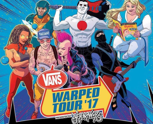 Warped Tour lineup release date announced