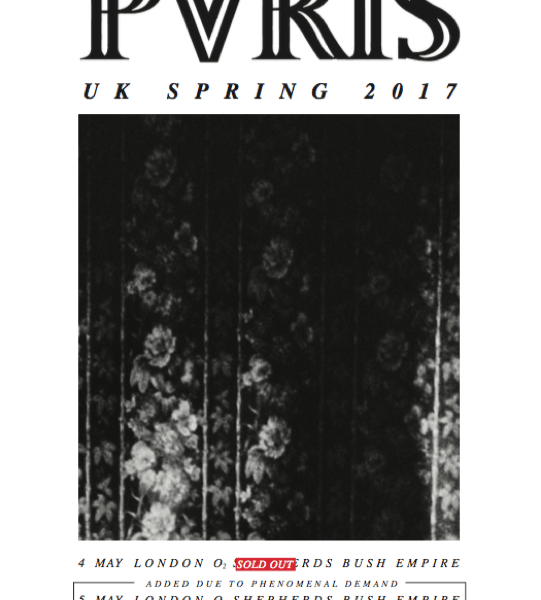 PVRIS add second London show to UK/EU May tour