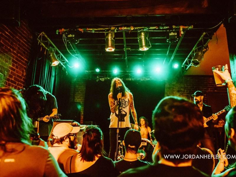 He Is Legend – Islander – To Speak of Wolves – Bad Seed Rising // 7.18.17 Baton Rouge, LA