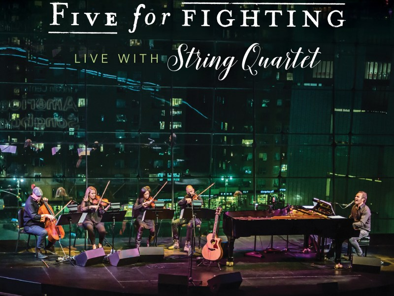 John Ondrasik of Five For Fighting discusses upcoming tour with string quartet