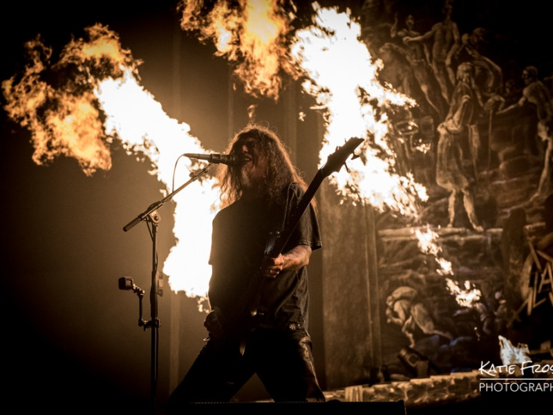 Slayer – Lamb of God – Anthrax – Obituary // London, UK 11.3.18