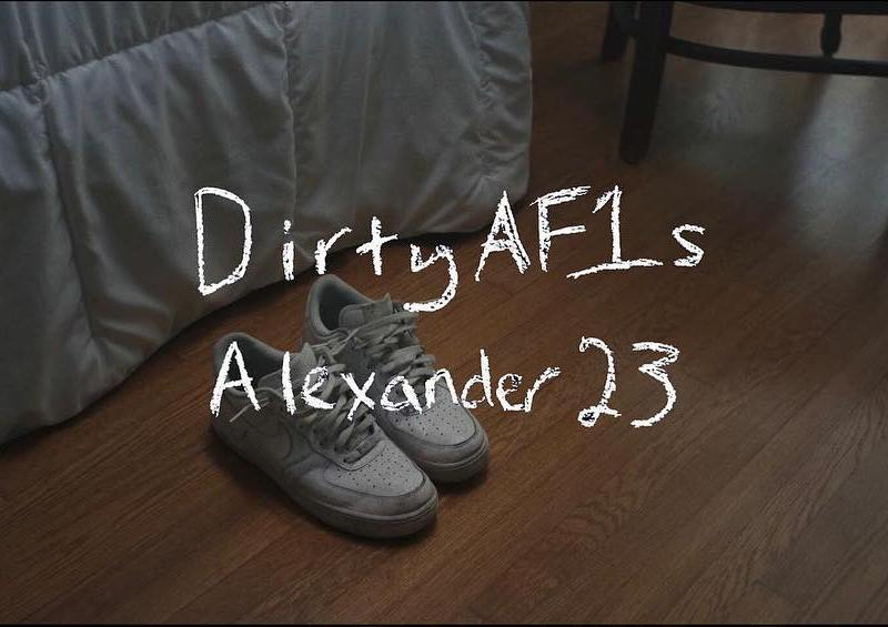 "Alexander 23 releases video for debut track ""Dirty AF1s"""