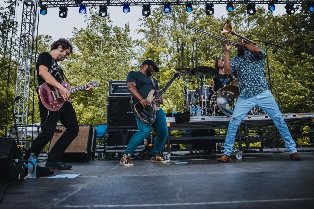 Trombone Shorty Laurel Live 14