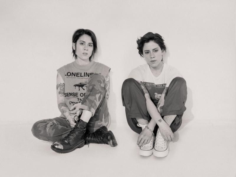 "Tegan and Sara revisit their old roots on new record ""Hey, I'm Just Like You"""