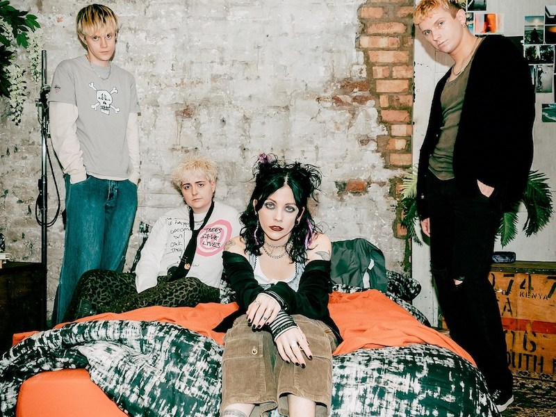 "Pale Waves release their sophomore album 'Who Am I?' alongside the music video for their latest single ""Fall To Pieces"""