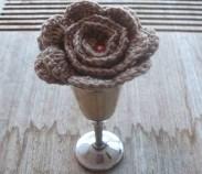 stitchedupmama - rose - bone