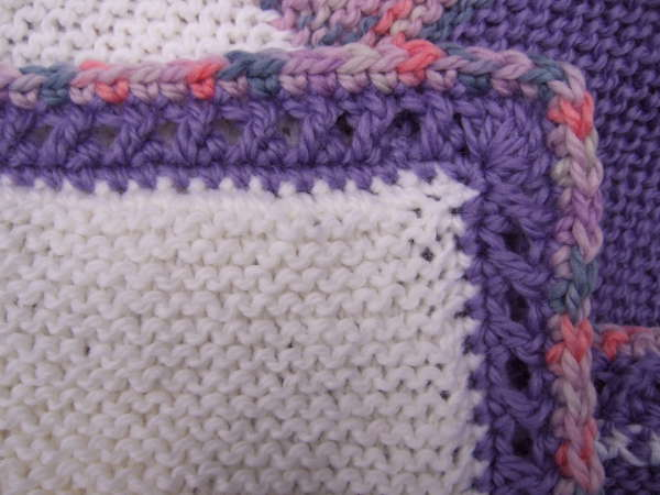 Crossed Double Crochet Border  Crocheted My Patterns
