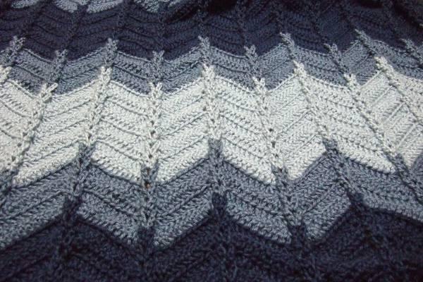 Jacobs Ladder Ripple Afghan  Afghans Crocheted My