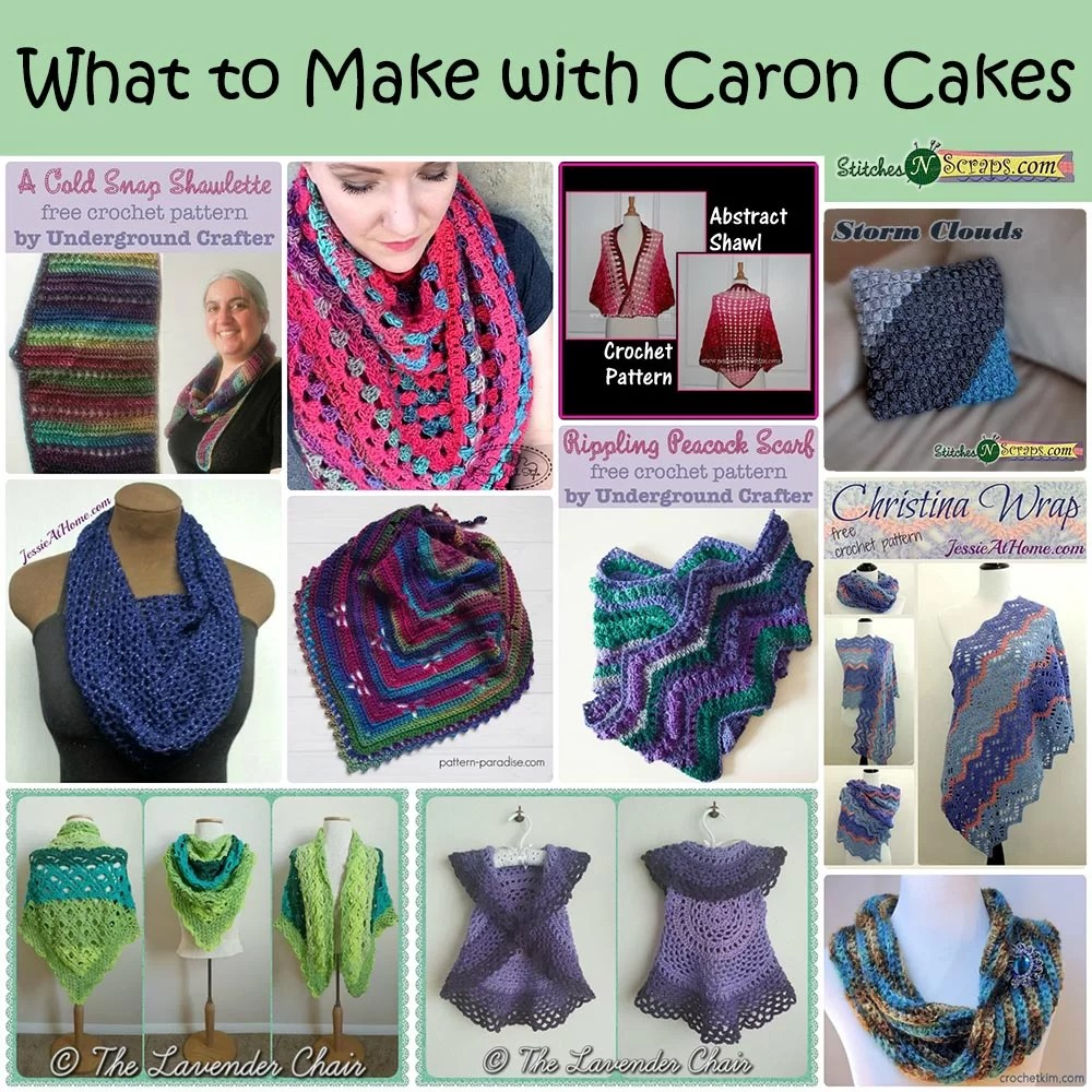 Round Up - What to Make with Caron Cakes - Stitches n Scraps ea96b5e873b