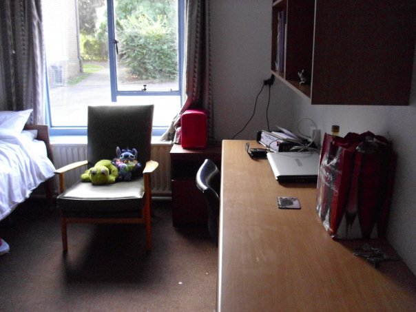 Not a very good pic but this is Ellie's room in hall