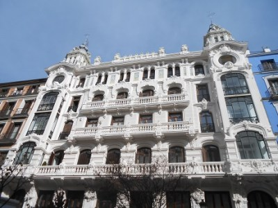 Madrid buildings 1