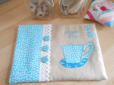 Coffee mug rug 1