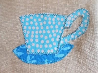 Coffee mug rug 2