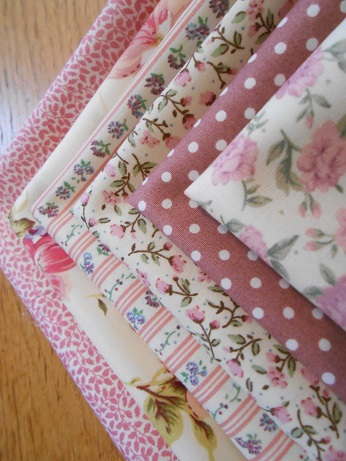 Dresen Rose and Hubble fabrics 2