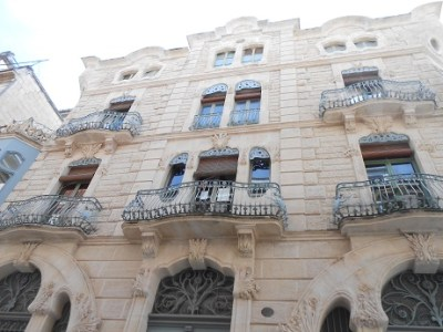Spain Alcoy 8 buildings