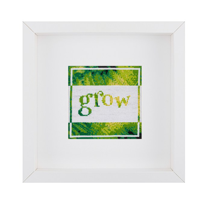 Grow Cross Stitch Kit | STITCHFINITY