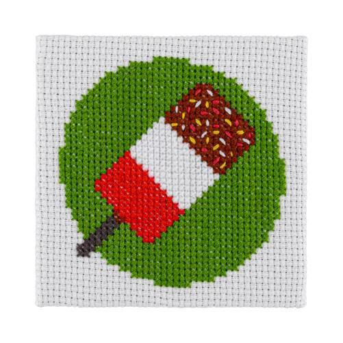 Mini Lolly Cross Stitch Kit | STITCHFINITY
