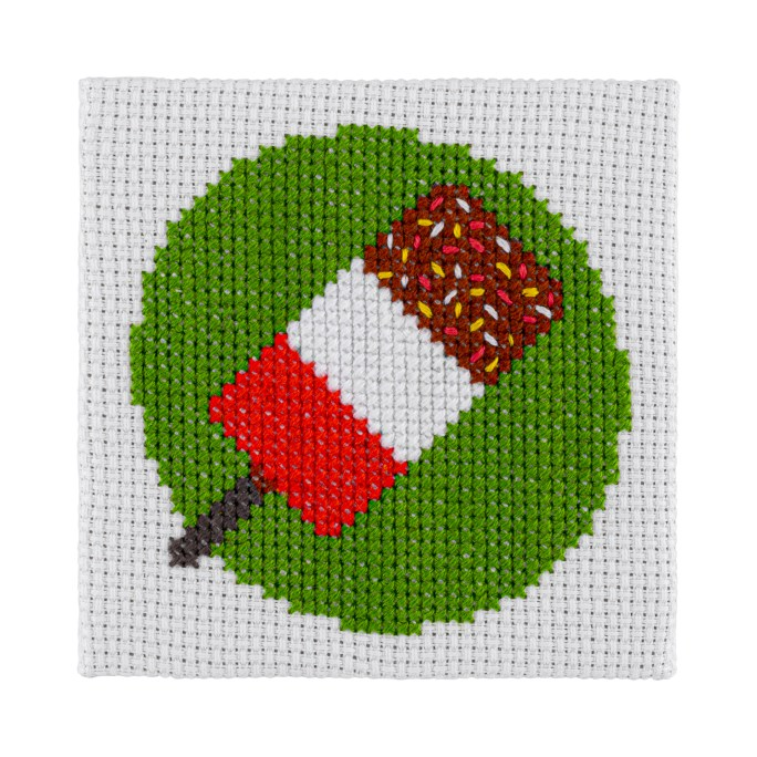 Mini Lolly Cross Stitch Kit | STITCHFINITY