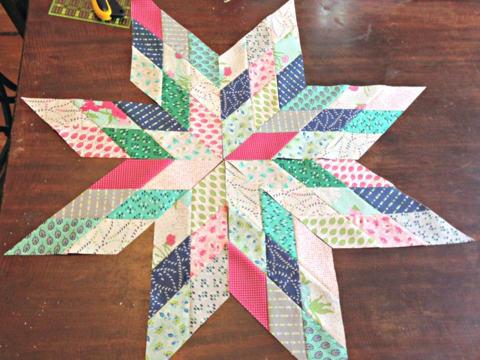 LoneStar Quilt WIP by Stitchified