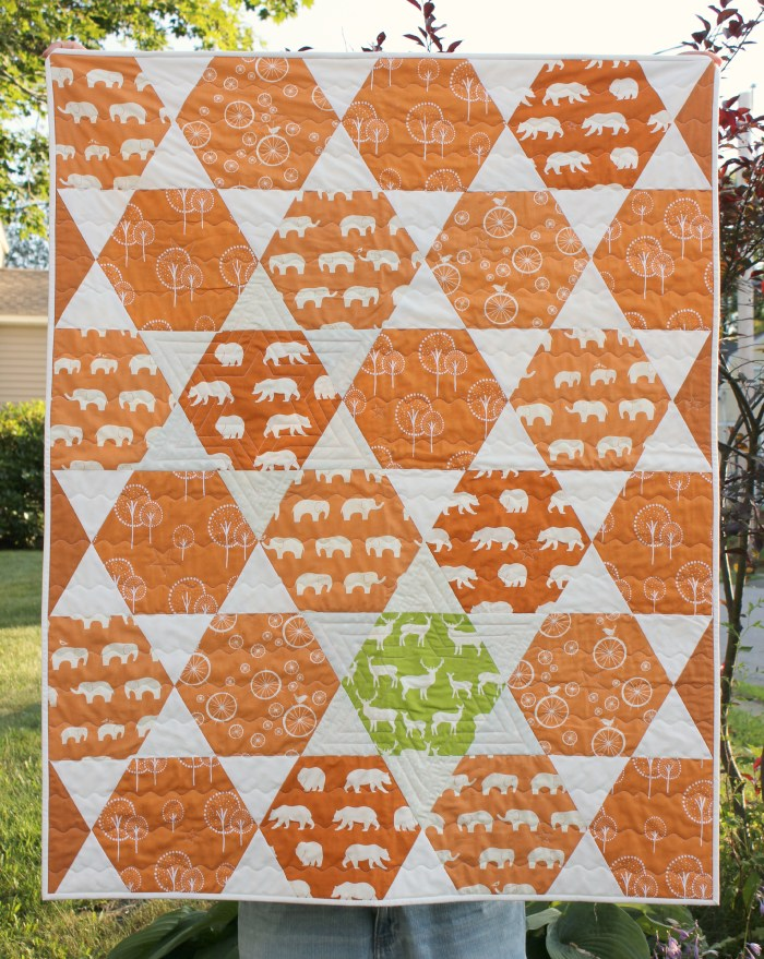 Boy Baby Quilt, by Stitchified