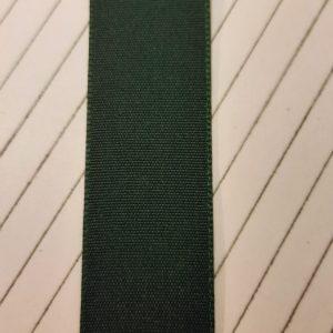 RUSTIC GREEN TAFFETA RIBBON 25mm